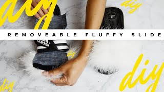 Fenty By Rihanna Fur Slides By Puma DIY