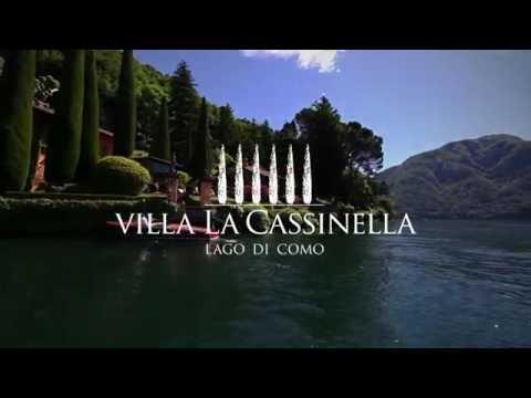 Villa La Cassinella - Luxury villa for rent on Lake Como with manicured gardens