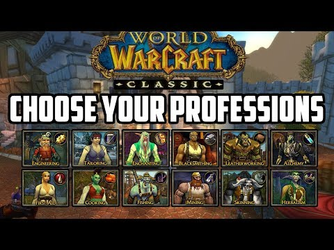 Picking a Profession in Classic WoW – All Professions Compared