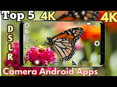 Top 5 4k DSLR Camera Apps.For Android.The Best Camera Apps.........