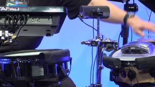 Roland BT-1 Trigger Pad Demo - Sweetwater at Winter NAMM 2013