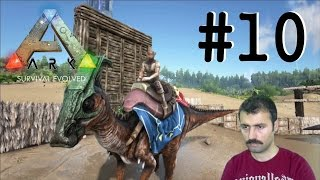FULL AKSiYON | Ark: Survival Evolved Türkçe Bölüm: 10 [Facecam]