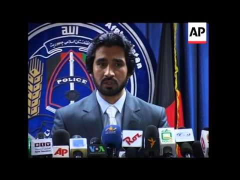 Interior Minister news conference on UN and hotel attacks