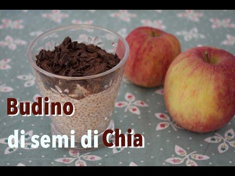 Ricetta: Budino Di Semi Di Chia Con Mele E Cioccolato (vegano)