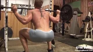 Get a big butty doing squats!