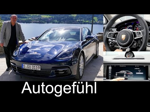 All-new Porsche Panamera: What you need to know - FULL REVIEW Panamera 4S V6 2017 neu - Autogefühl