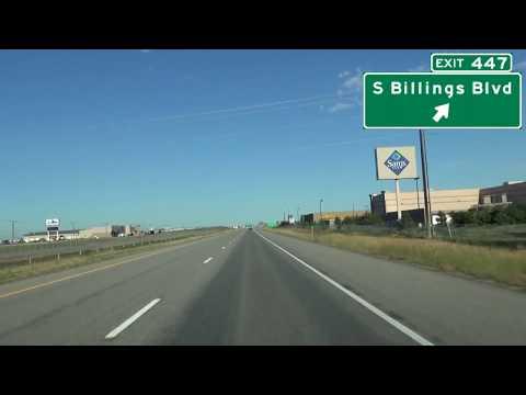 Interstate 90 West Billings, Montana