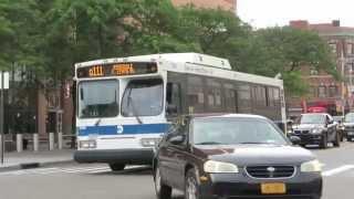 MTA Bus: Rosedale bound Orion VII 3768 Q111 at Parsons Blvd/Archer Av