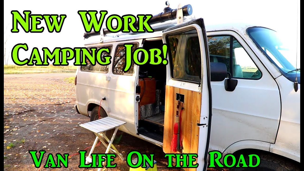 new-workamping-job-north-dakota-vanlife-on-the-road