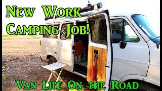 New Workamping Job - North Dakota- VanLife On the Road