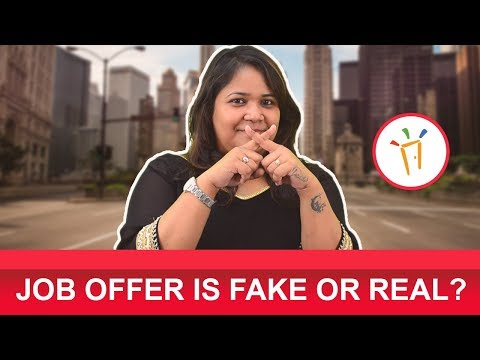 How to Check If a Job Offer Is Fake or Genuine? - A recommended video for all job seekers