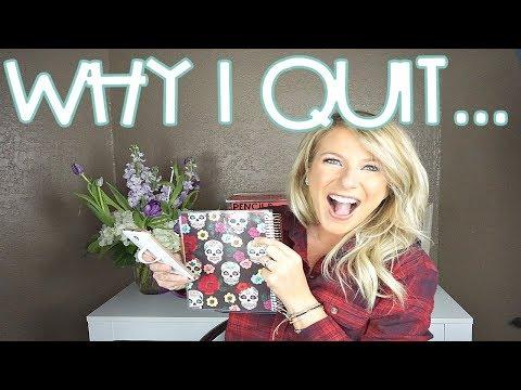 Why I quit teaching ... | Teacher Vlog