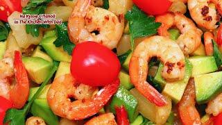 Салат с креветками. Очень вкусный и красивый | Shrimp Salad