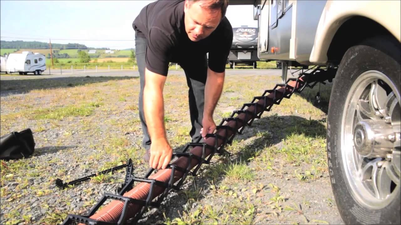 Tflex The Best Support For Sewage Hose Youtube