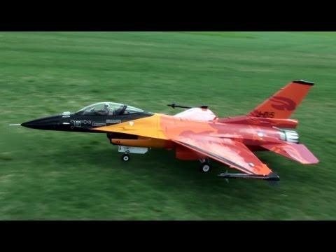 $15,000 1:4.75 RC Turbine F16 CRASH