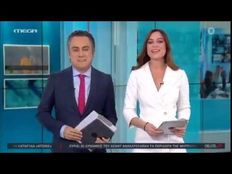 MEGA TV: Ξεκίνησε το μεγάλο κανάλι | Η πρώτη καλημέρα | #MegaOpwsPanta