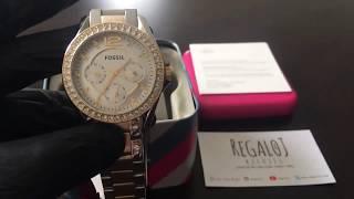 Reloj FOSSIL ES3204 - UNBOXING FOSSIL Watch ES3204 (Regaloj)