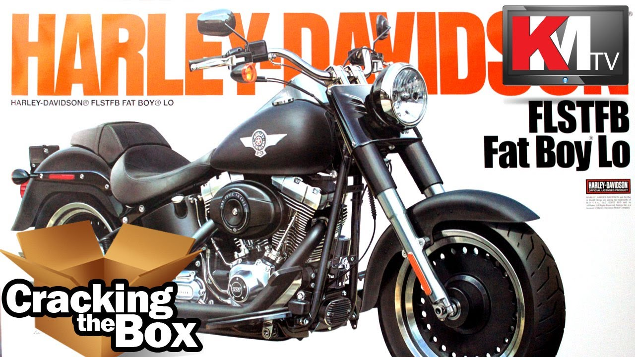 Unboxing Tamiya's 1/6 Harley Davidson FLSTFB Fat Boy Lo - YouTube