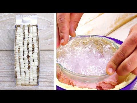 utilisez-un-carton-de-lait-vide-comme-moule-|-6-gâteaux-rafraîchissants