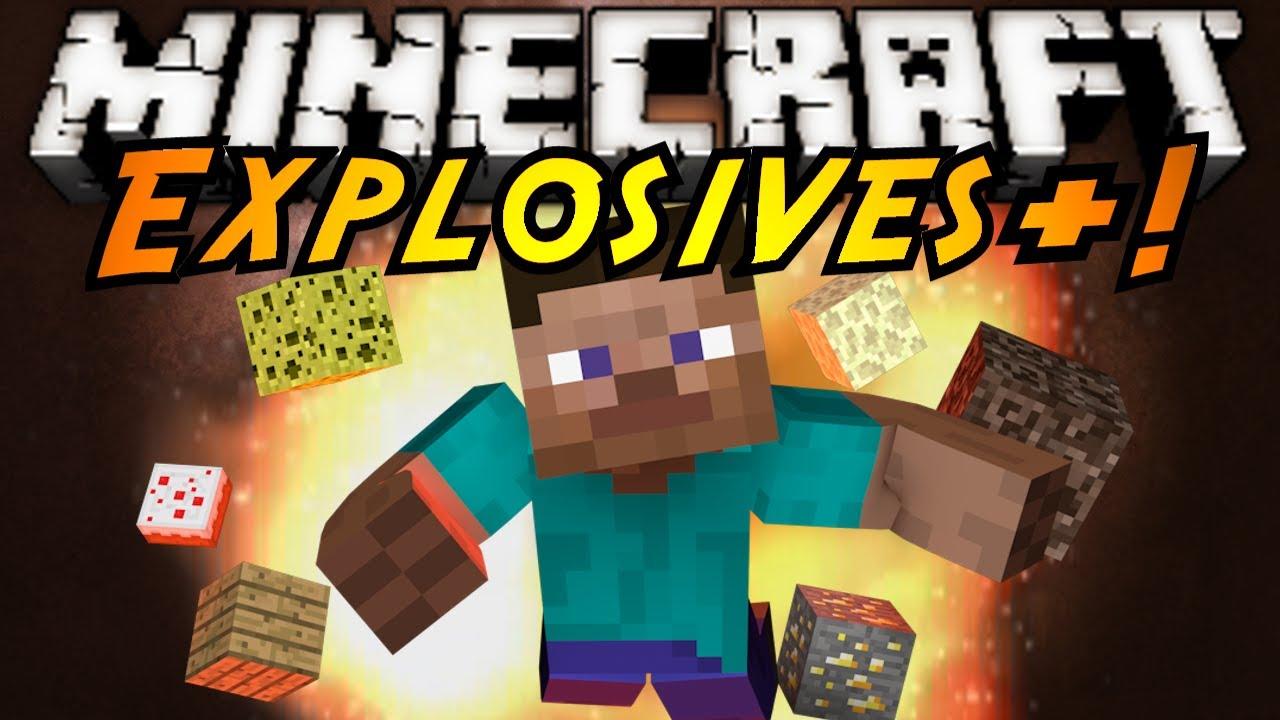 Minecraft mod showcase explosives youtube