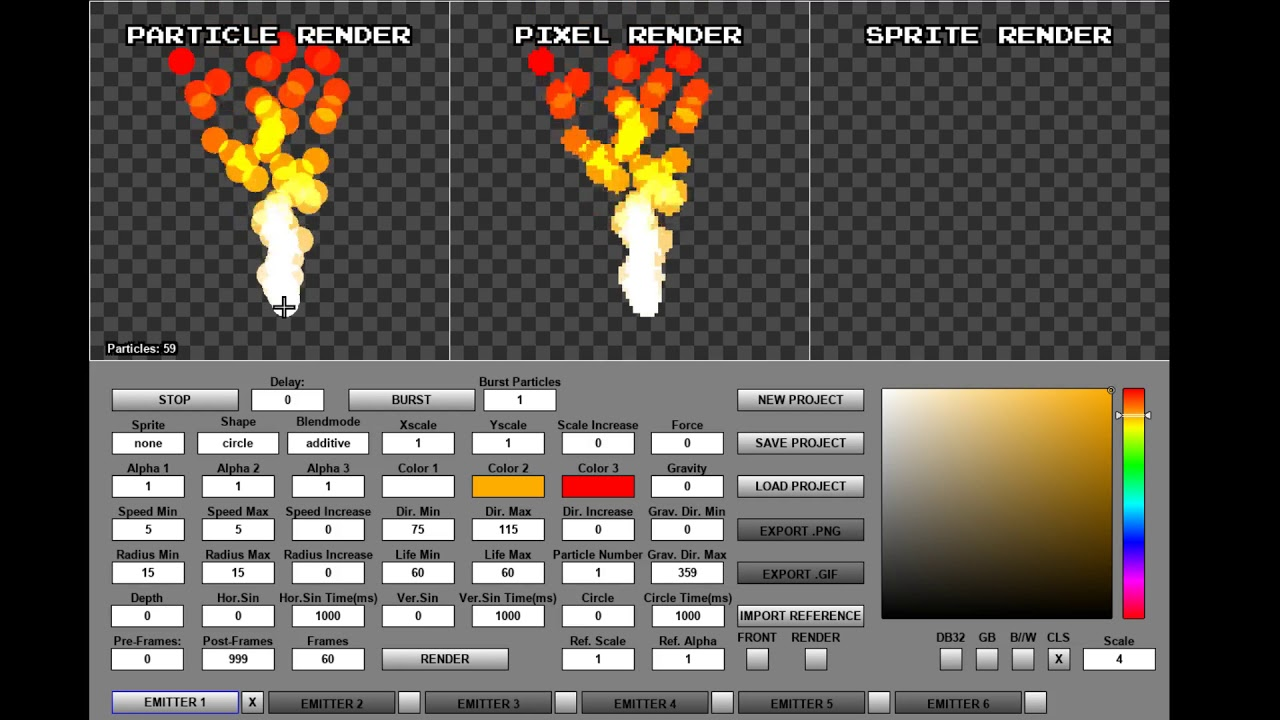 Pixel Effect Designer V10 Early Access