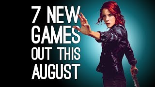 7 New Games Oขt in August 2019 for PS4, Xbox One, PC, Switch