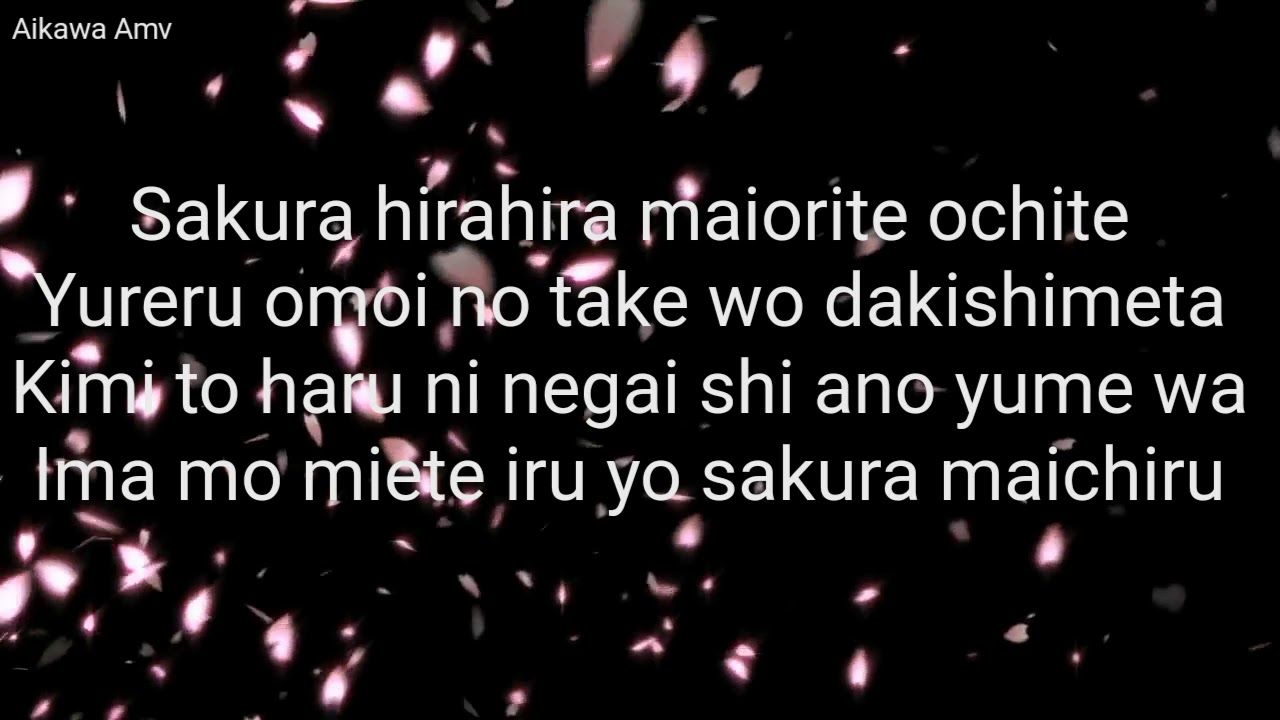 Ikimono Gakari-Sakura with [Lyric]