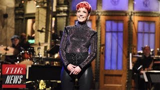 'SNL' Rewind: Halsey Hosts and Performs, 'Them Trumps' Sketch Returns For Trump's Address | THR News