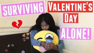 How to survive valentine's day single!    ♡ tamara ten