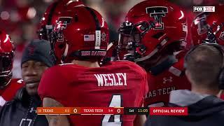 2018 - Game 10 - #19 Texas @ Texas Tech