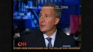 9/22/2008 - Ron Paul Advisor Peter Schiff On AC 360
