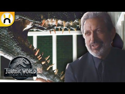 Download Youtube: Ian Malcolm and Indoraptor First Looks! - Jurassic World Fallen Kingdom Preview Breakdown