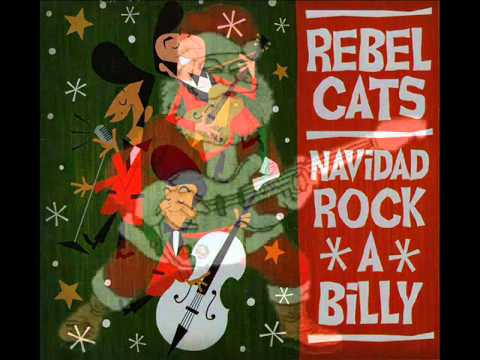 navidad rock rebel cats