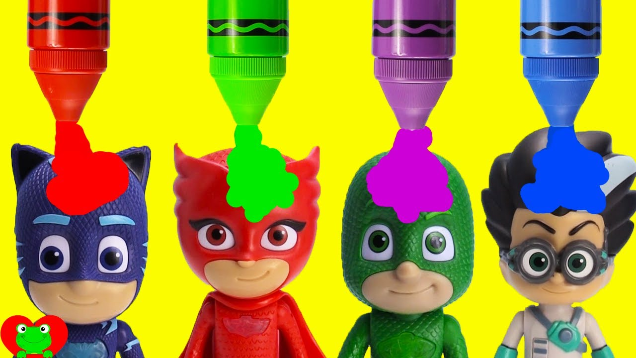 Pj Masks Learn Colors And Opposites Youtube