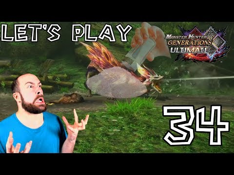 Let's Play Monster Hunter Generations Ultimate - #34: Chasse du Mizutsune et du Lagiacrus ! thumbnail