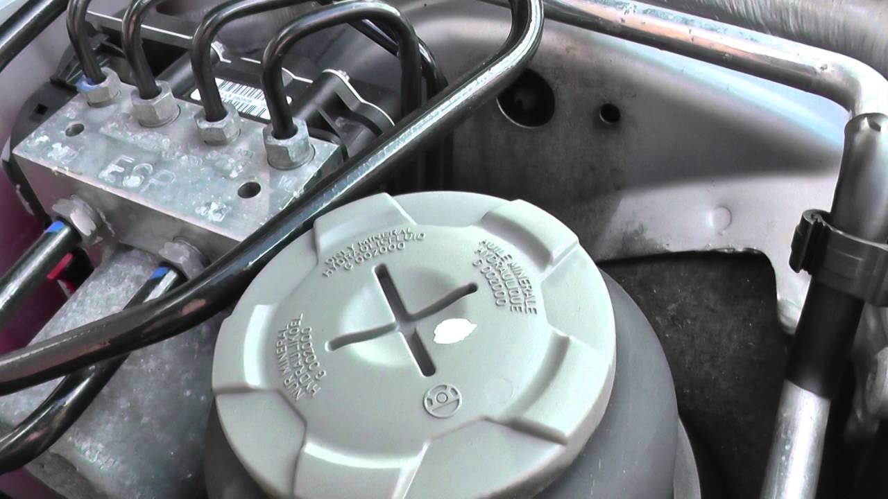adding power steering fluid audi a4