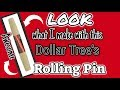 LOOK what I do with DOLLAR TREE'S ROLLING PIN | Dollar Tree FARMHOUSE DIY