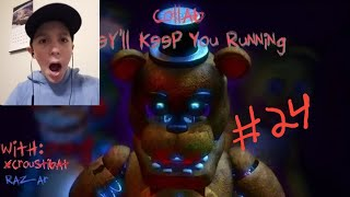"Goober Reacts # 24 | [FNAF SFM COLLAB] FNAF SONG ANIMATION ""They'll Keep You Running"" By Flint 4K"