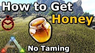 How to Get Giant Bee Honey Without Taming | Beehive Trap | Ark: Survival Evolved
