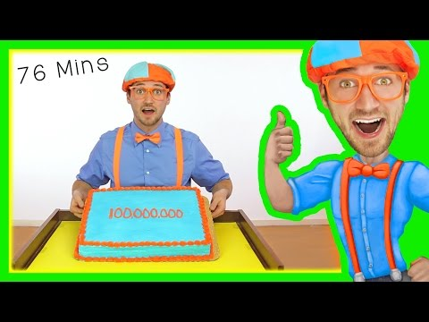 Blippi 100 Million Views | Preschool Songs and More!