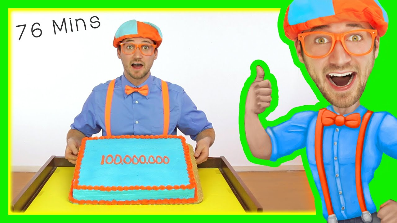 Blippi 100 Million Views | Preschool Songs and More!