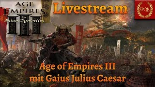 Age of Empires III Livestream und Talk über Age of Empires IV 15.11.19 [Deutsch/German/HD/Gameplay]