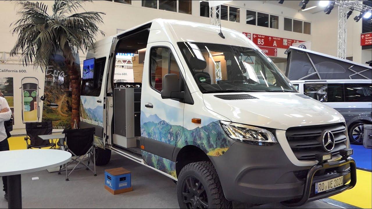 Wohnmobil-Ideen von VanEssa mobilcamping in Mercedes Sprinter 10x10 - f.re.e  10 - Transporter-Ausbau