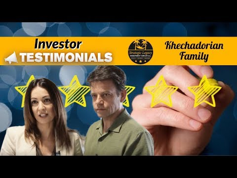 Strategic Legacy Investment Group-Investor Testimonial Adrien and Klaus