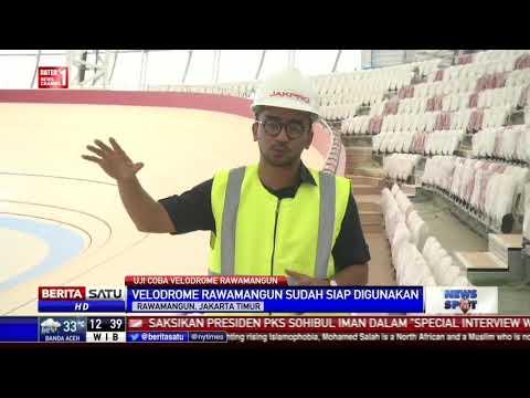 Velodrome Rawamangun Siap Digunakan Asian Games 2018