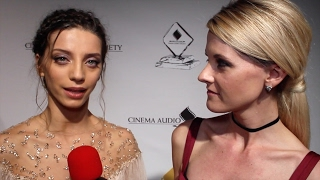 Angela Sarafyan Interview 53rd Annual CAS Awards Red Carpet