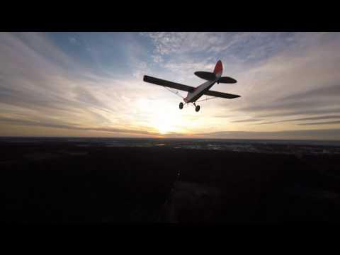 Chasing Carbon Cub  (audio Warning)