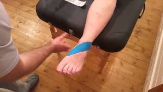 kinesio taping for ankle instability