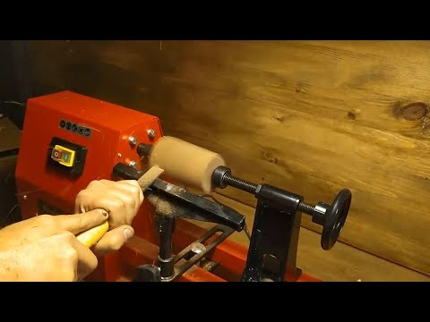 Woodturning Set up - How to Build Woodturning - Einhell Woodworking Lathe