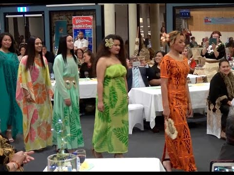 Monalisa Palu Fashion Collection | High Commission of Tonga Cultural Evening